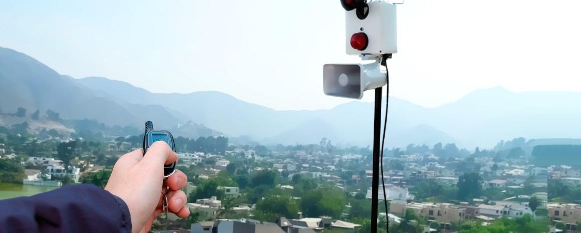 Nuevo Sistema de Alarma Comunitaria en El Salvador